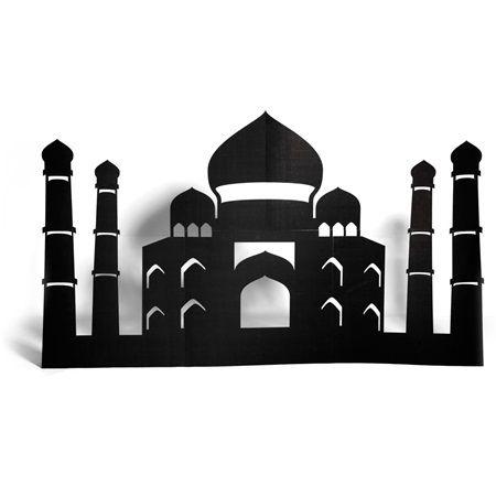 Arabian Palace Silhouette
