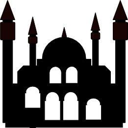 261x261 Mosque Silhouette