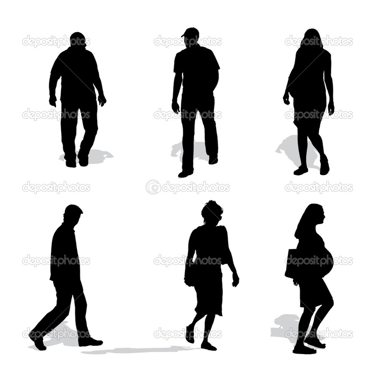 736x736 10 Best People Silhouettes Images On Silhouette