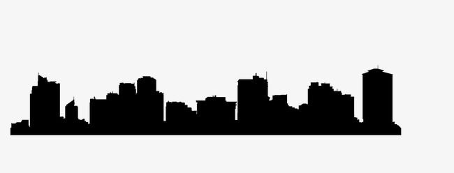 650x248 City U200bu200bbuilding, Building Silhouette, Architectural Background Png