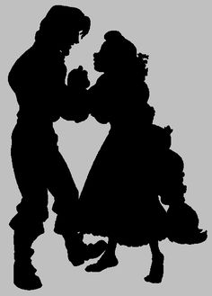236x329 Prince Eric And Ariel Silhouette