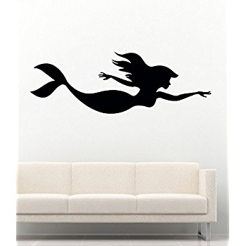 350x350 The Little Mermaid Silhouette Group