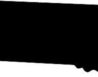 340x270 Arizona State Silhouette Die Cut Vinyl Decal Sticker. You Pick