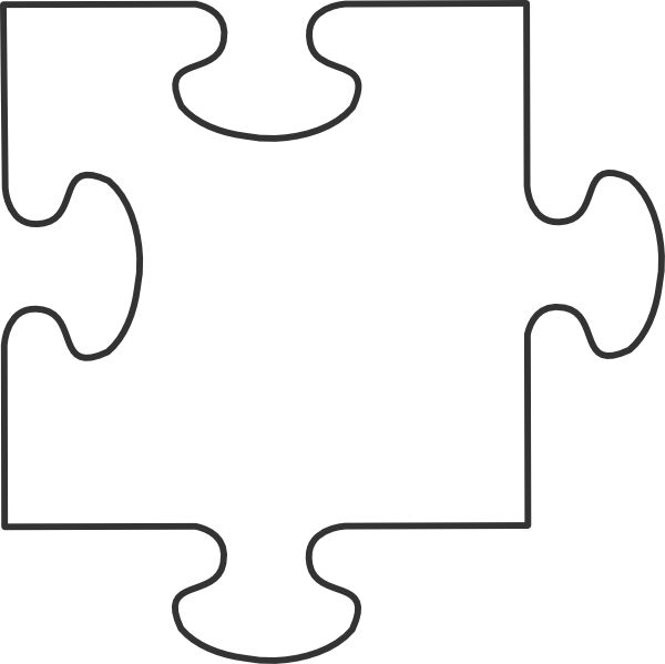 600x599 48 Puzzle Piece Coloring Page, Coloring Page Puzzle Piece Img