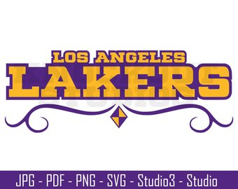 340x270 Lakers Svg Etsy