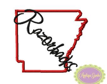 340x270 Arkansas Outline