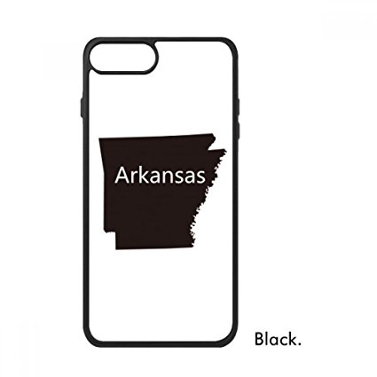 425x425 Arkansas America Usa Map Silhouette For Iphone 88