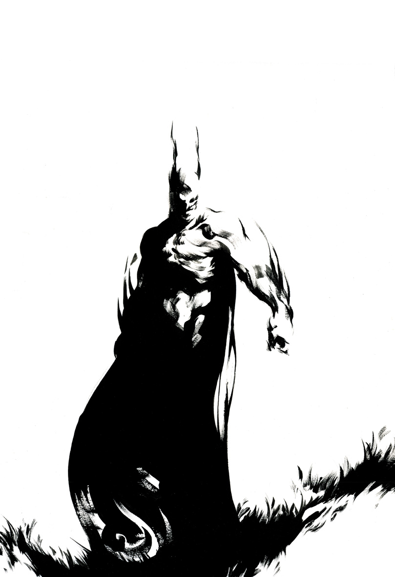 808x1181 Batman By Mikael Bourgouin