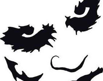 340x270 Dark Knight Sticker Etsy