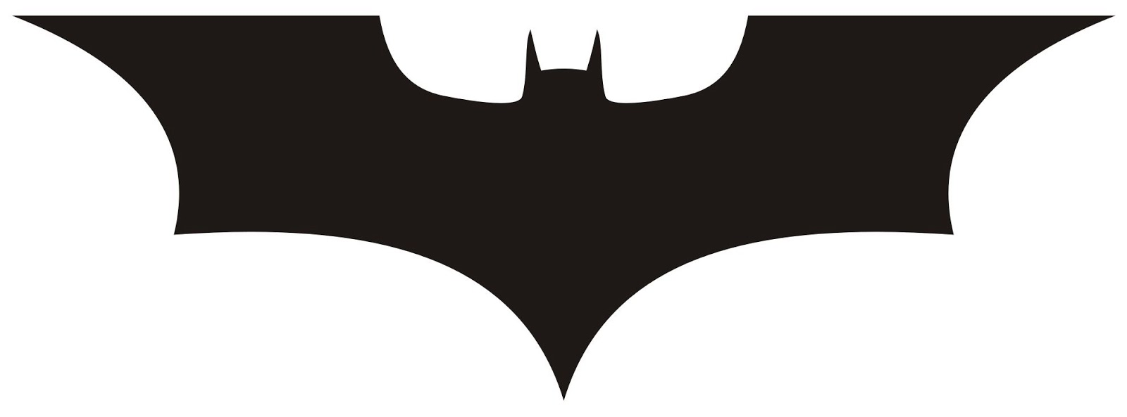 1600x593 30 Images Of Template Batman Dark Knight Logo