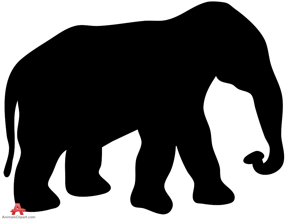 999x764 African Elephant Silhouette Clipart Free Clipart Design Download