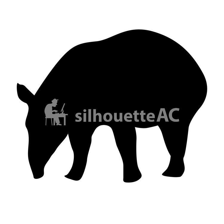 750x749 Free Silhouettes Lazy, Milk, Mammals