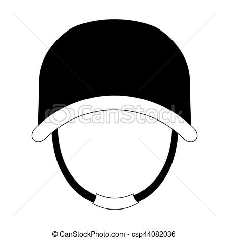 450x470 Military With His Protective Helmet Icon Image, Vector Vectors