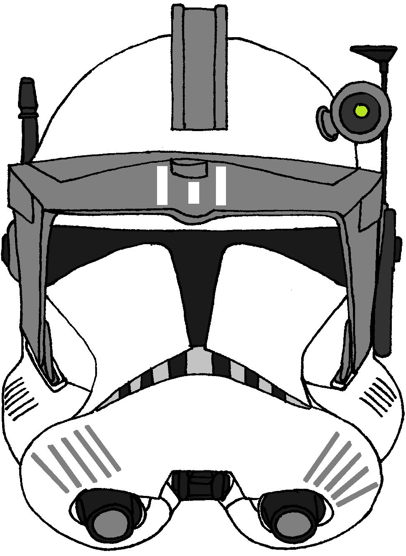972x1332 Clone Trooper Commander's Helmet Kamino Guards Clone Trooper