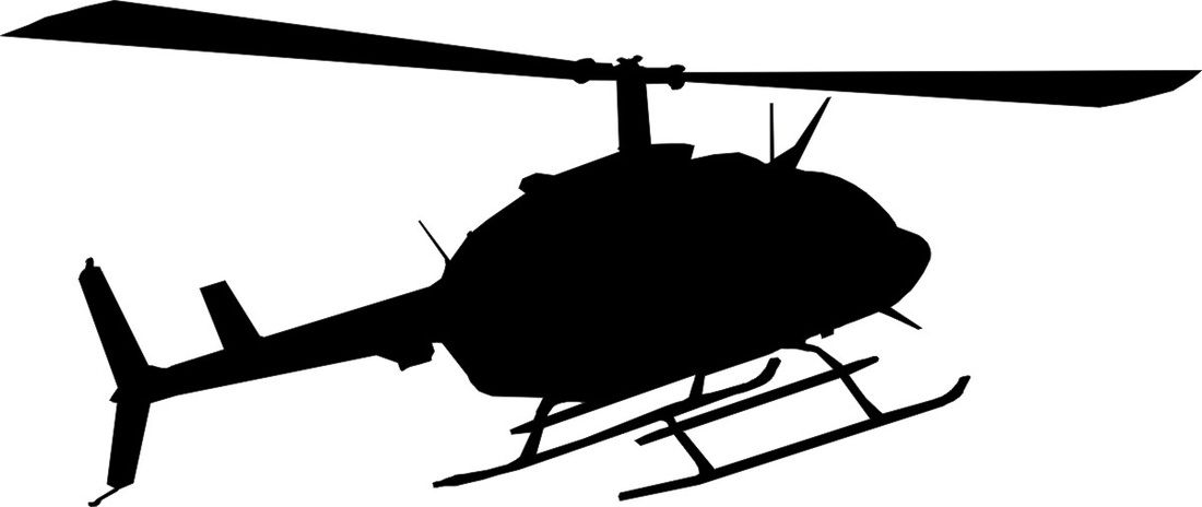 1100x464 Helicopter Silhouette Back Gt Gallery For Gt Army Helicopter