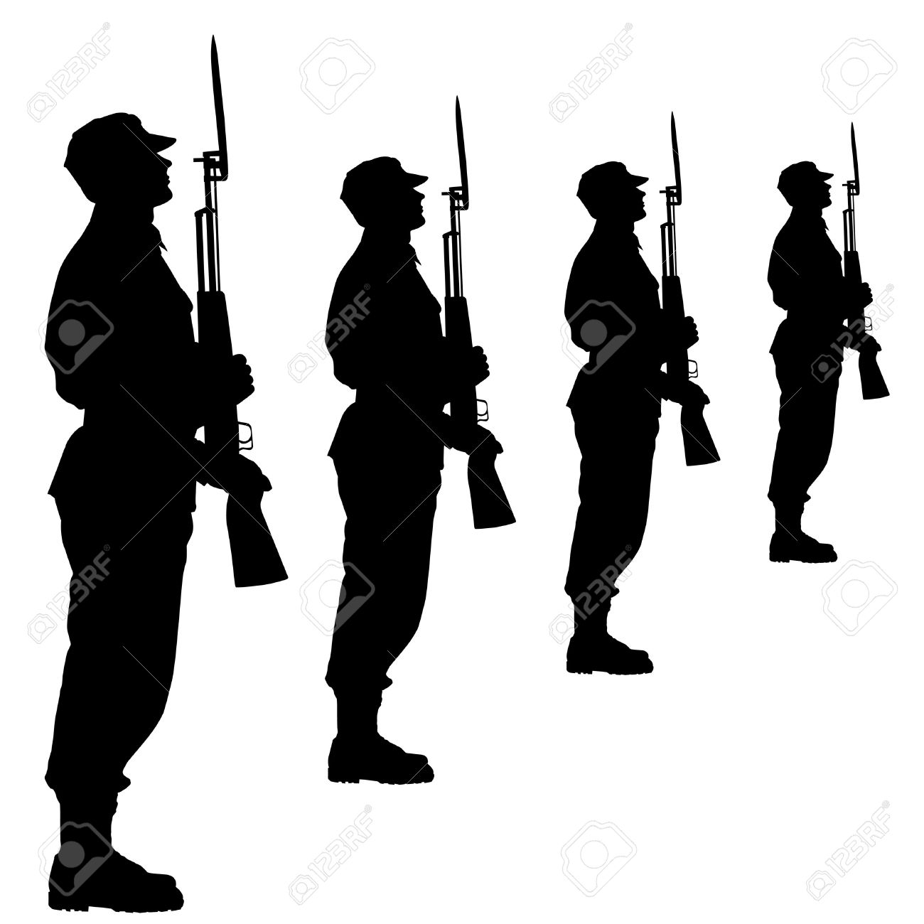 1300x1300 Military Parade Clipart