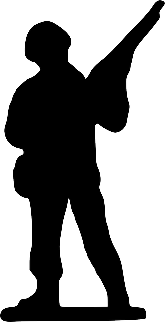 329x640 Silhouette, Cartoon, Stand, Toy, Gun, Weapon, Army