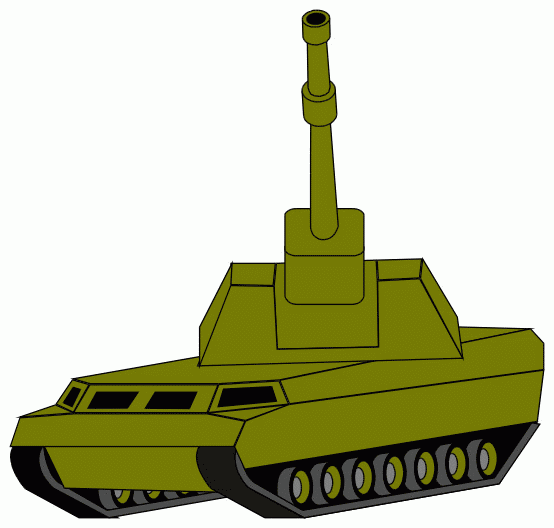 554x528 Free Army Tank Clipart, Hanslodge Clip Art Collection