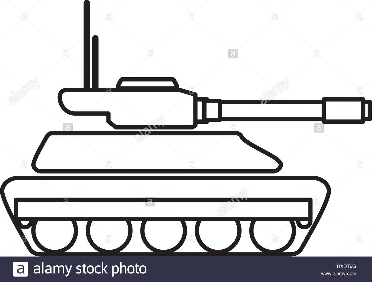 1300x985 Military Tank Stock Vector Images