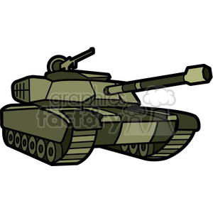 300x300 Royalty Free Military Tank 398005 Vector Clip Art Image