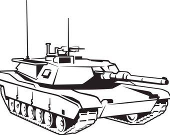 340x270 Tank Svg Etsy
