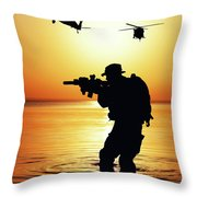 180x180 Army Soldier Silhouette Photograph By Oleg Zabielin