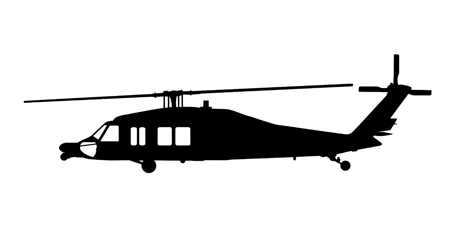 1500x750 Blackhawk Helicopter Clipart