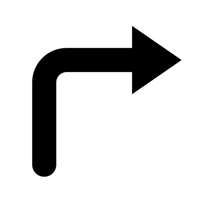 640x640 Arrow Icon Free Material Mark Symbol