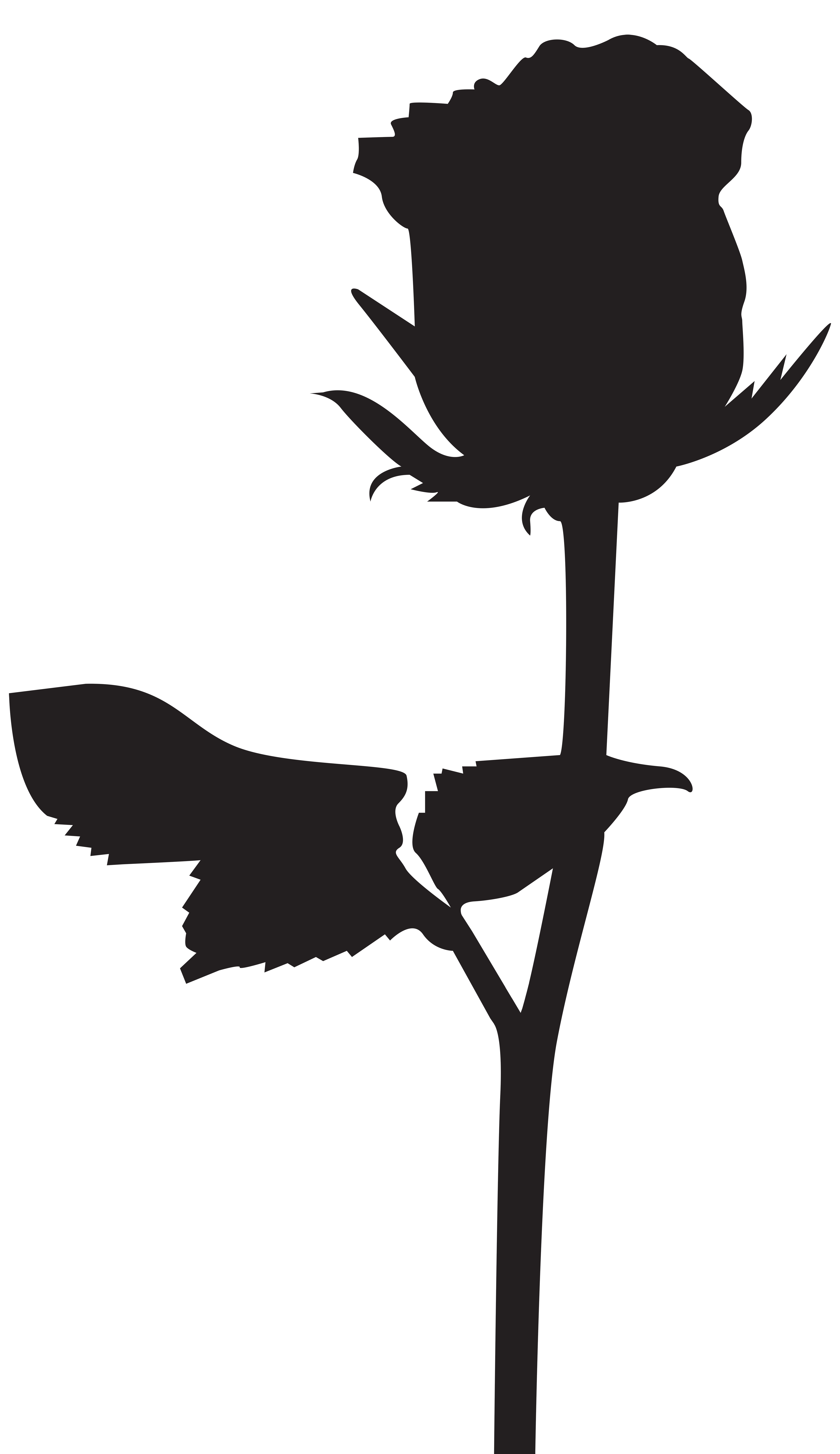 4624x8000 Rose Silhouette Png Transparent Clip Art Imageu200b Gallery