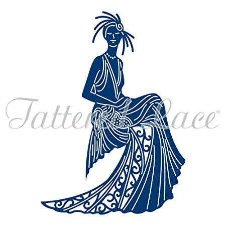 450x450 Tattered Lace Art Deco Daphne Die Tld0269
