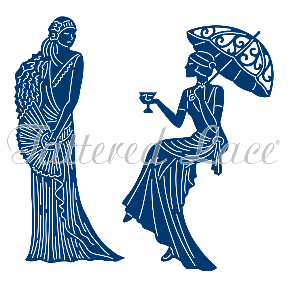1000x1000 Tattered Lace Die Art Deco Cocktail Hour