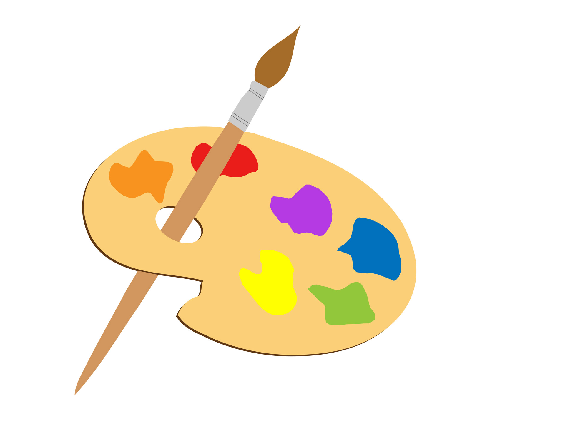 1920x1500 Artists Palette Clipart Free Stock Photo