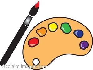 300x225 Palette Clipart Paintbrush 3762728