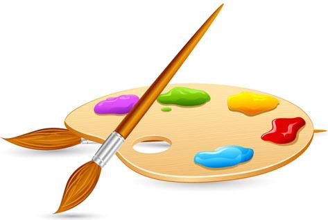 473x317 Artist Palette Vector Free Vector Download (5,460 Free Vector)