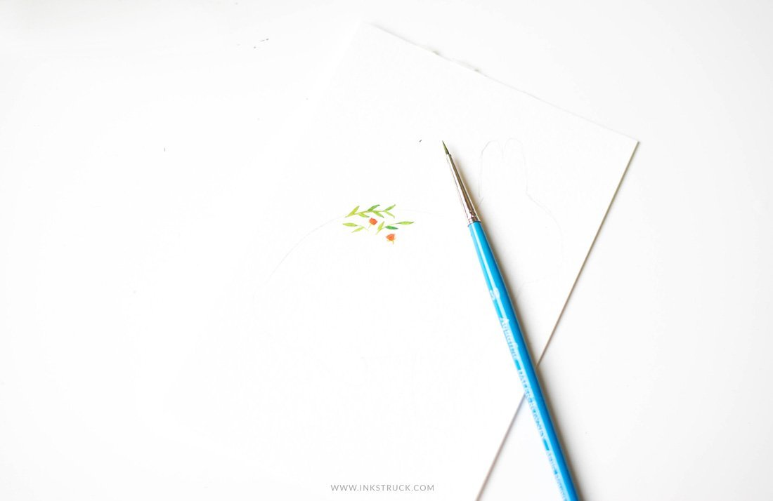 1100x714 Watercolor Silhouette Tutorial