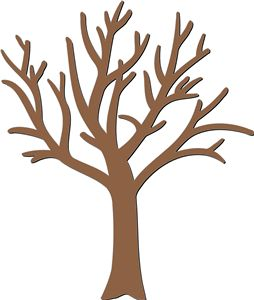 254x300 Clipart Designed Tree Collection