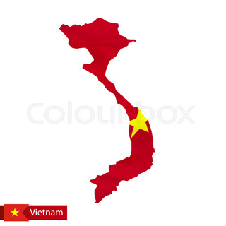 320x320 Map Icon Of Vietnam. Blue Map Of Southeast Asia With Highlighted