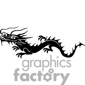 300x300 chinese dragon clipart easy