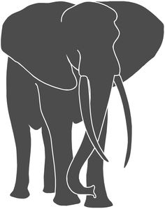 236x299 Silhouette Of Elephants