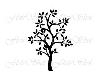 340x270 Tree Silhouette Winter Tree Silhouette Tree Drawing Tree