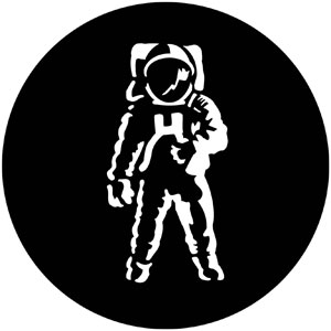 300x300 Astronaut Apollo Gobo 2500