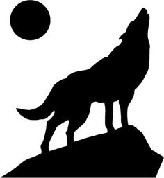 236x257 Howling Wolf Silhouette Clipart Free Clipart Design Download