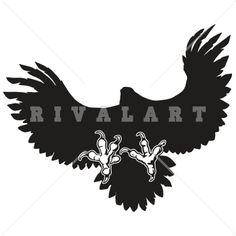 236x236 Falcon Mascot Clipart