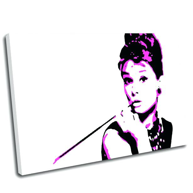 616x616 Wall Arts Audrey Hepburn Wall Art Wall Art Sticker Picture