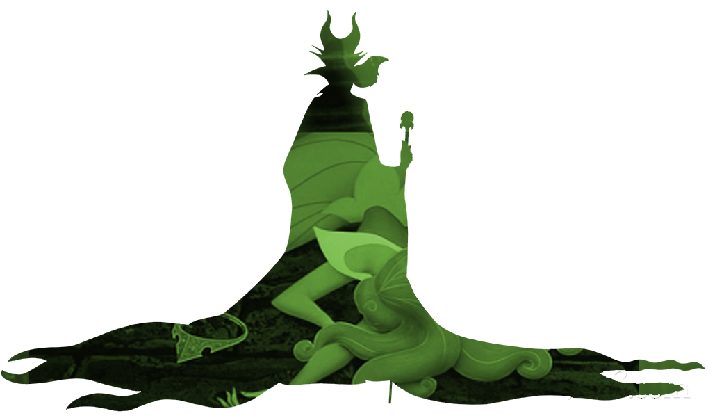 1019x601 Maleficent Silhouette Aurora Fallen By Cmwatts