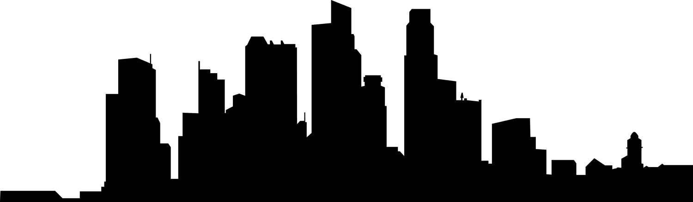 1500x439 City Skyline Clipart