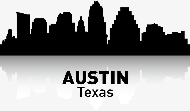 650x381 Austin, City Silhouette, City, City Png And Vector For Free Download