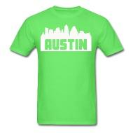 190x190 Austin Texas Skyline Silhouette By Kwg2200 Spreadshirt