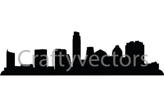 570x374 Austin Skyline Vector File