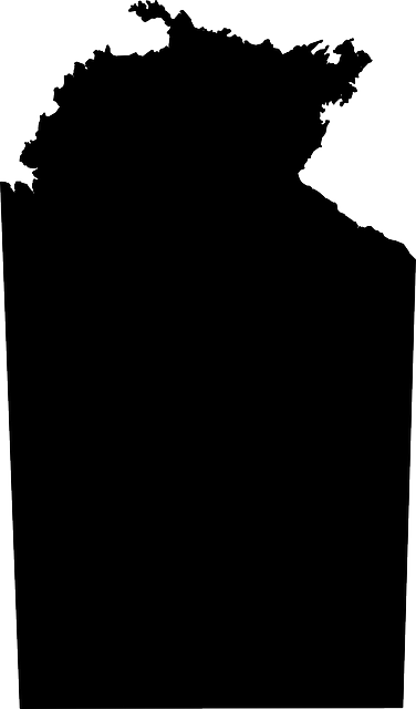 Australia Map Silhouette